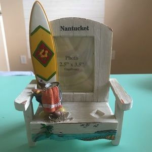 Nantucket Surf Chair Picture Frame